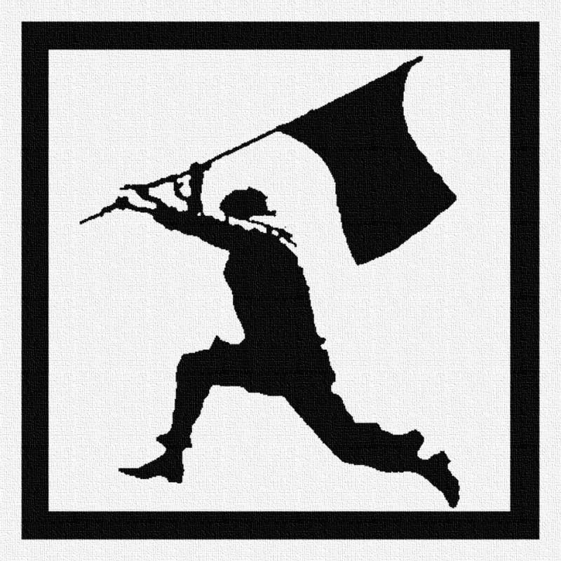Anarchiste - Patch à coudre - 9x9cm