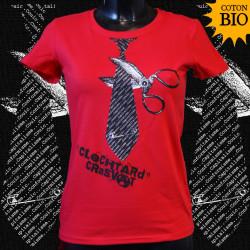 Clochtard, fille t-shirt bio