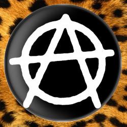 Anarchie Noir - Badge Ø25mm