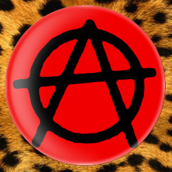 Anarchie Rouge - Badge Ø25mm