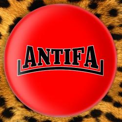 Antifa - Badge Ø25mm