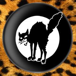 Chat Noir (noir) - Badge Ø25mm
