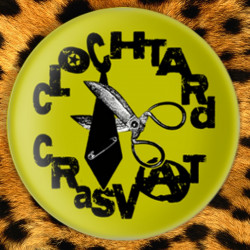 Clochtard (vert) - Badge Ø25mm