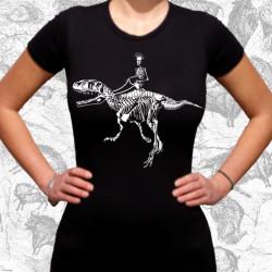 Decroissance, t-shirt fille bio-equitable
