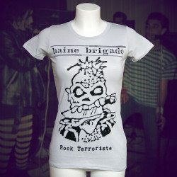 HAINE BRIGADE Rock Terroriste T-shirt bio équitable Femme
