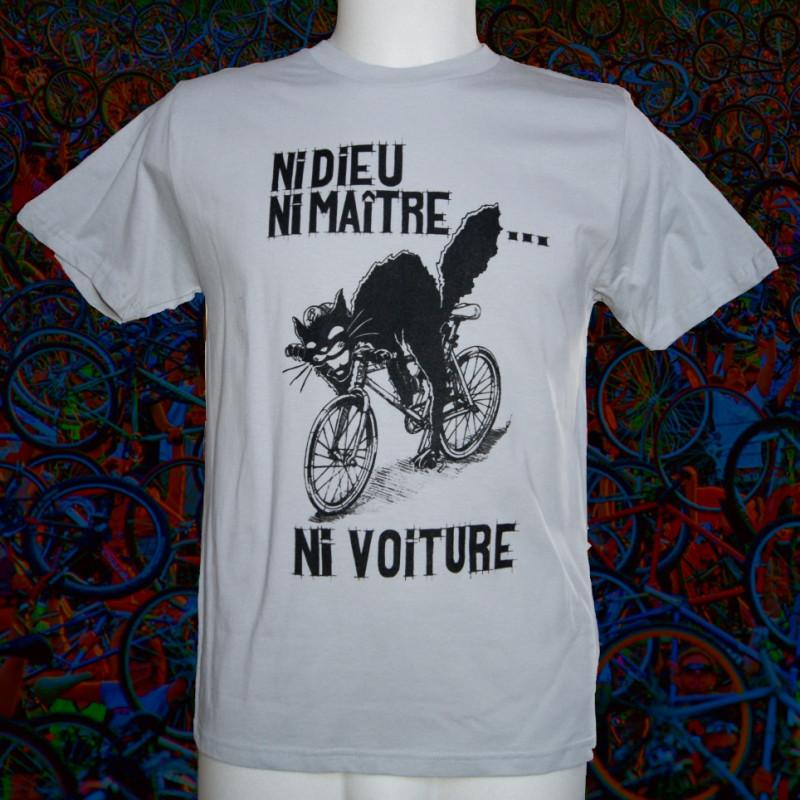 NI DIEU NI MAÎTRE NI VOITURE T-shirt bio équitable Homme