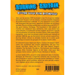 BURNING BRITAIN Seconde vague punk britannique (livre 2015)