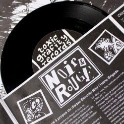 "BÉRURIER NOIR / HAINE BRIGADE Split EP ""MAKHNOVTCHINA"""