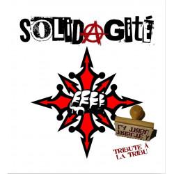 SOLIDAGITE Tribute à la tribu Vinyle 2014 (cd in)