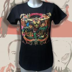 LUDWIG VON 88 la révolution... t-shirt femme en coton bio-equitable