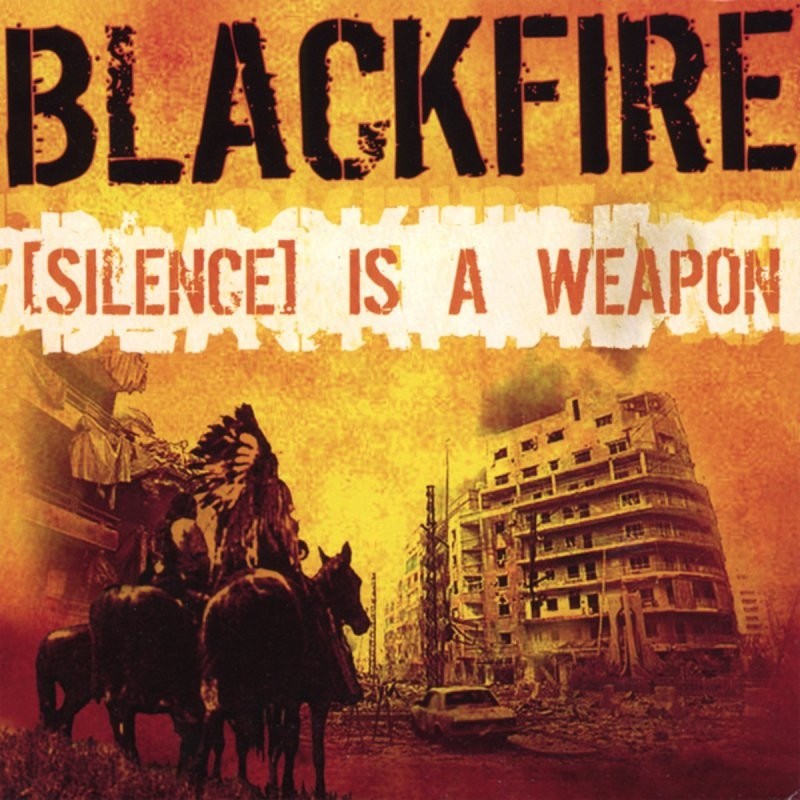 BLACKFIRE [Silence] Is A Weapon doubleCD