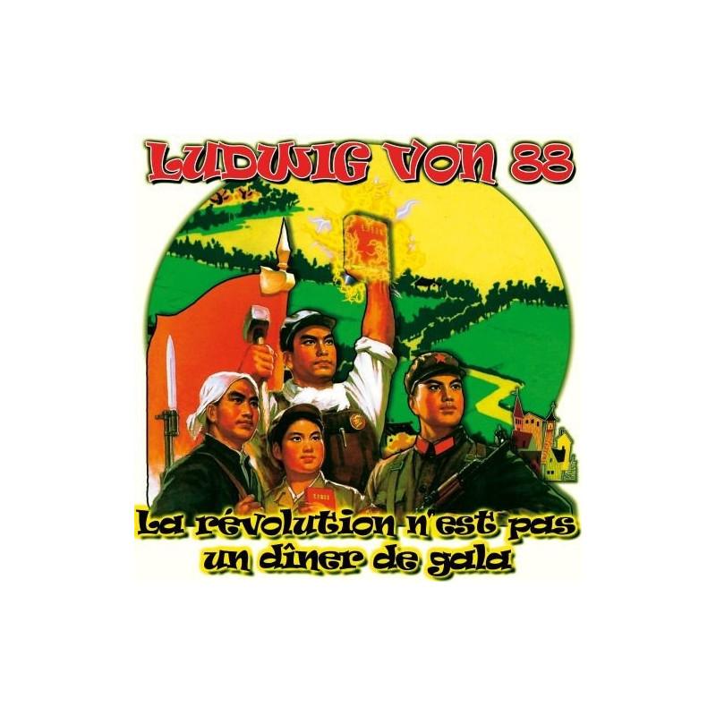 LUDWIG VON 88 La Révolution N'est Pas Un Diner De Gala Double LP Vinyle 2016