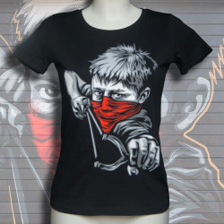 RNST Gamin Fronde T-shirt Femme en coton bio