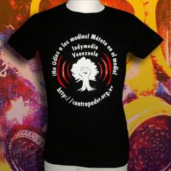 INDYMEDIA VENEZUELA T-shirt Homme en coton bio