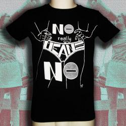 NO MEANS NO t-shirt masculin en coton bio-equitable