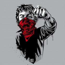 RNST Gamin Cri T-shirt Homme en coton bio