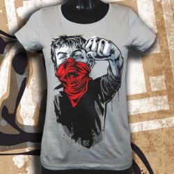 RNST Gamin Cri T-shirt femme en coton bio