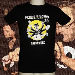 PRINCE RINGARD Tapage t-shirt masculin en coton bio-équitable