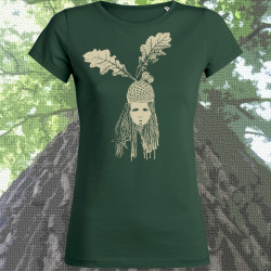 TÊTE DE GLAND tshirt feminin en coton bio-équitable