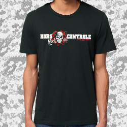 HORS CONTROLE Strictly Antisfascist t-shirt masculin