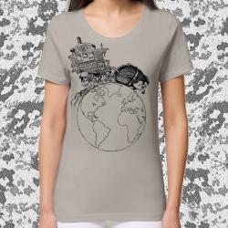 NIGLOBOHEM opal T-shirt feminin