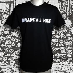 T-shirt masculin Drapeau Noir