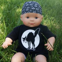 Chat Noir, t-shirt bébé, photo