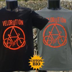 Vélorution - T-Shirts Hommes - Coton Bio