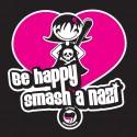 """Be Happy"" visuel"