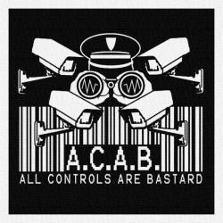 Acab - Patch à coudre - 9x9cm