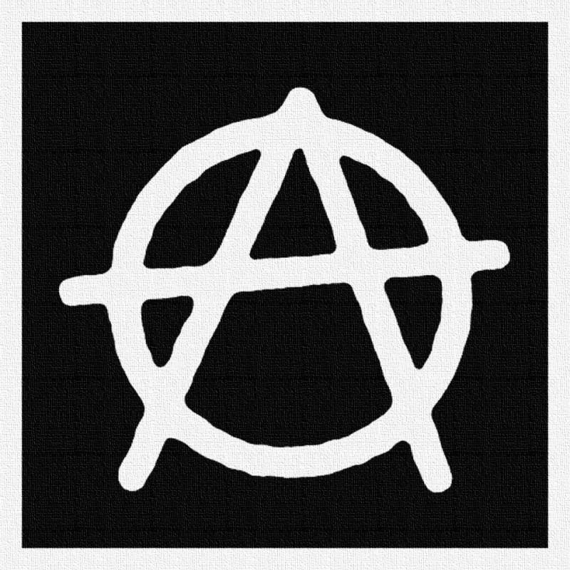 Anarchie 1 - Patch à coudre - 9x9cm