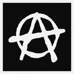 Anarchie 3 - Patch à coudre - 9x9cm