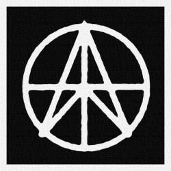Anarcho Peace - Patch à coudre - 9x9cm