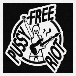 Pussy Riot - Patch à coudre - 9x9cm