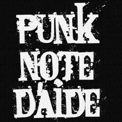 Punk's Note d'Aide - Patch à coudre - 9x9cm
