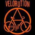 Velorution, homme sweat capuche bio-equitable
