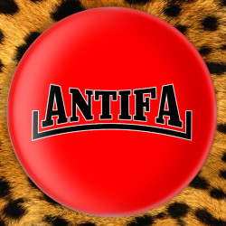 Antifa - Badge Ø25mm