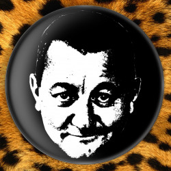 Coluche - Badge Ø25mm
