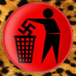 Anti Nazi - Badge Ø25mm
