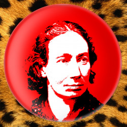 Louise Michel - Badge Ø38mm