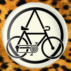 Velorution - Badge Ø38mm