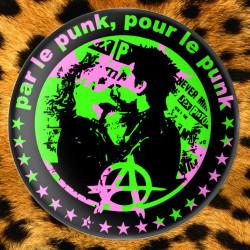 Par le Punk Pour le Punk - Badge Ø59mm