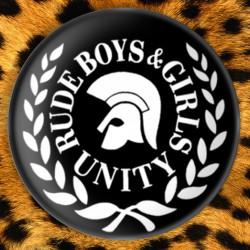 Rude Girls and Boys United - Badge Ø25mm
