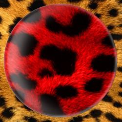 Léopard rouge