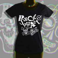Psycho Squatt, T-Shirt femme