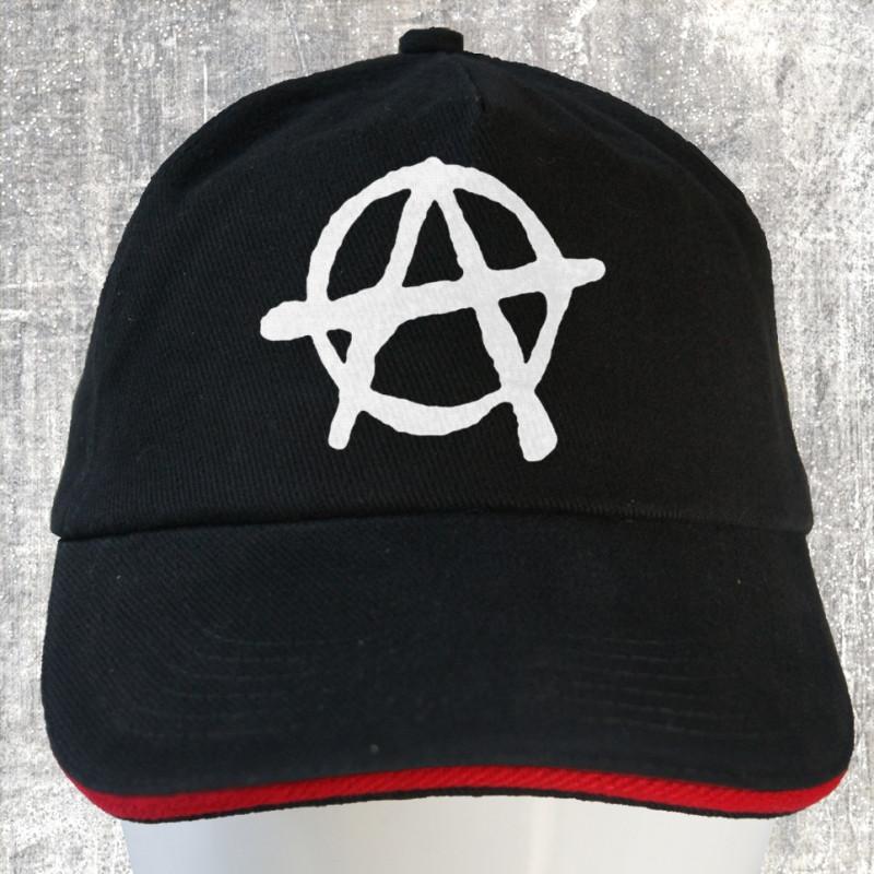 Anarchy, casquette coton brossé