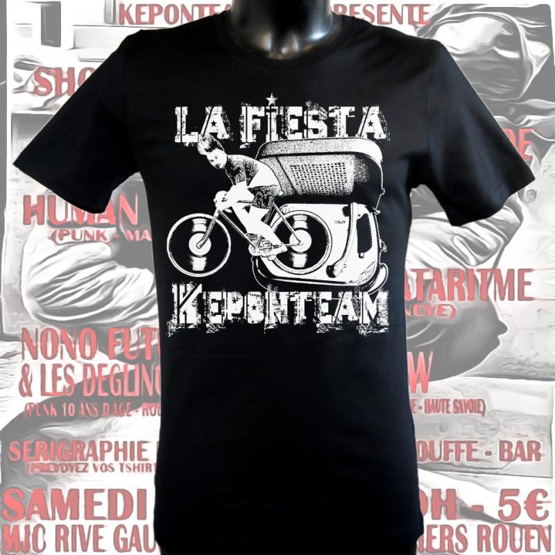 La Fiesta Keponteam 2, homme, t-shirt bio-equitable