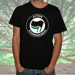 Action Ecoanarchiste t-shirt homme