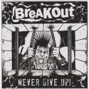 """Breakout """"Never Give Up"""" Vinyl EP 2013"""