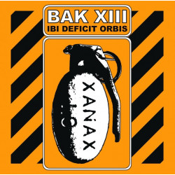 "Bak XIII ""Ibi Deficit Orbis"" CD 2010"